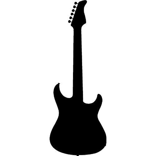 Guitar Silhouette - ClipArt Best