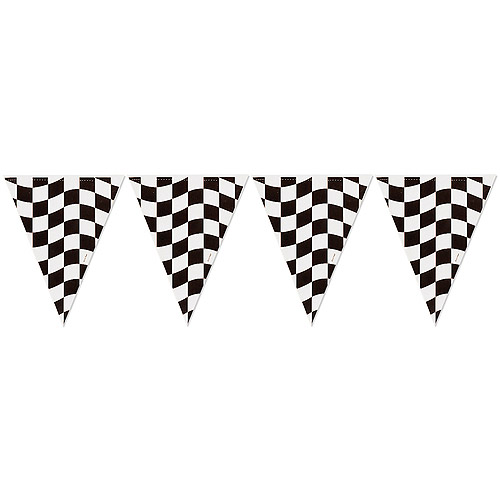 Creative Expressions Black and White Flag Banner Walmart