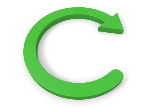 free clipart circular arrow - photo #30