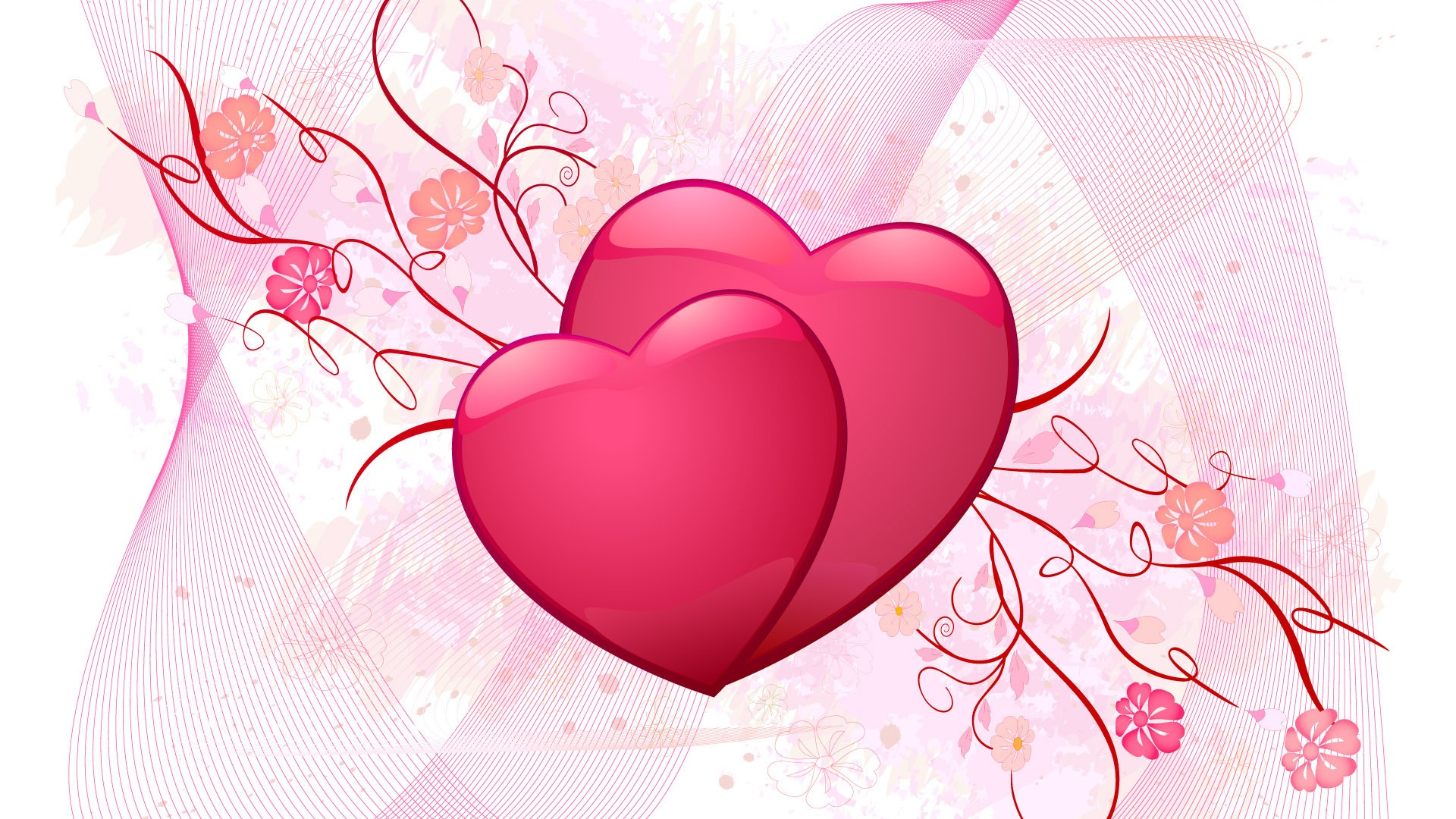 Love cute Heart Wallpaper : Pink Love Hearts - clipArt Best