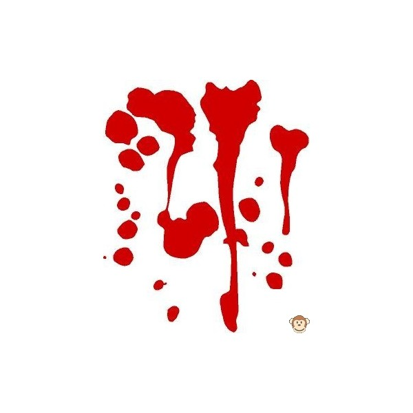 Cartoon Blood Splatter - ClipArt Best