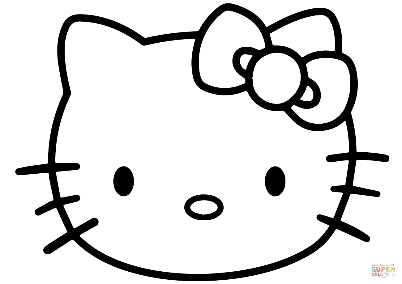 Emo Hello Kitty Coloring Pages : Emo hello kitty coloring pages printable