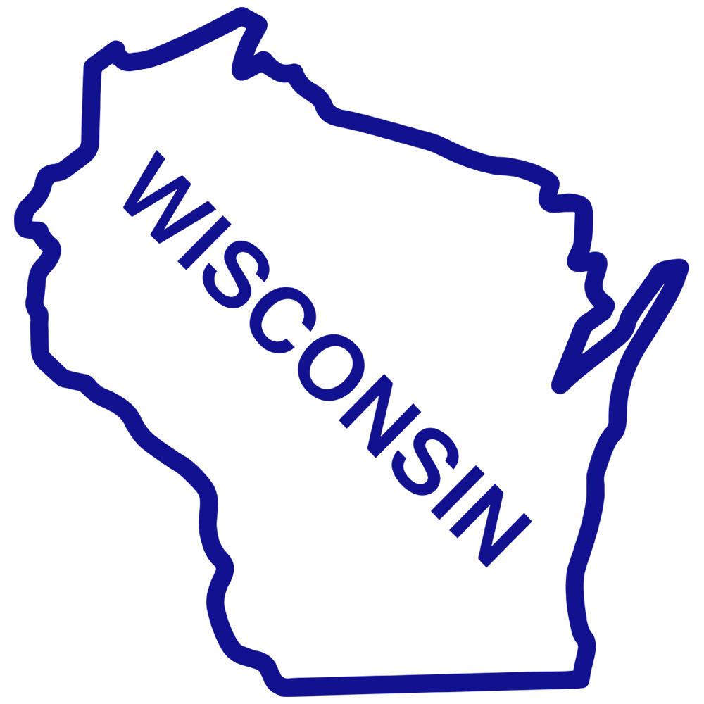 Clipart wisconsin outline