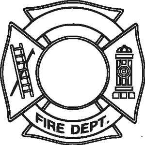 Fire Department Logo ADD YOUR STATION # Vinyl Decal Your Color ...