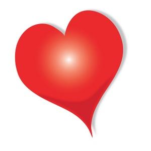 Clip Art Red Heart Clipart red heart clip art clipart best tumundografico