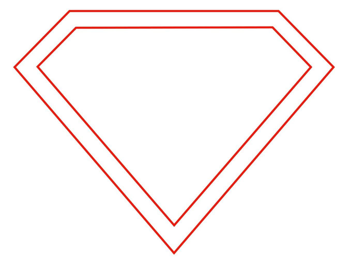 Как сделать логотип супермена 620
