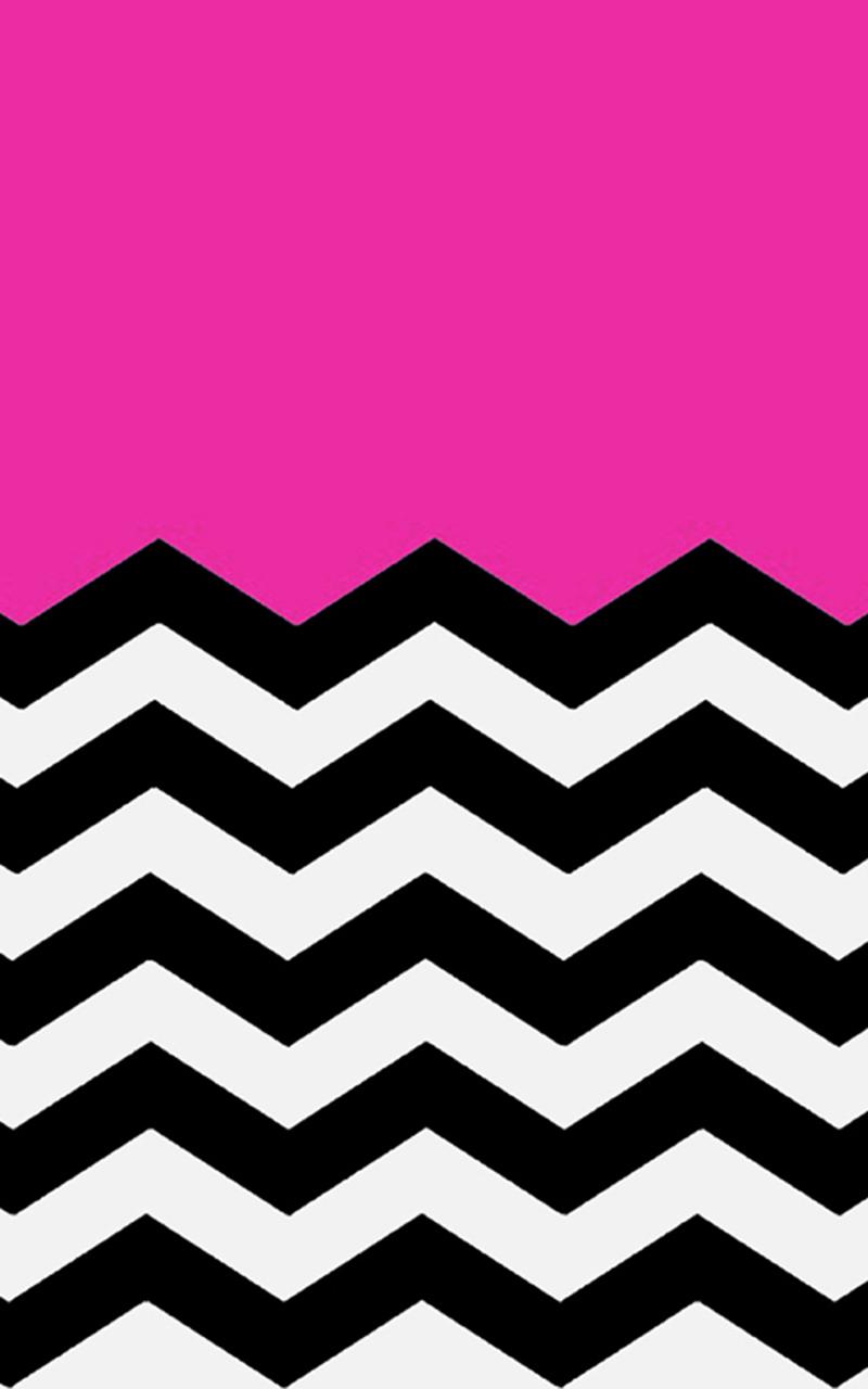hot pink chevron wallpaper clipart best