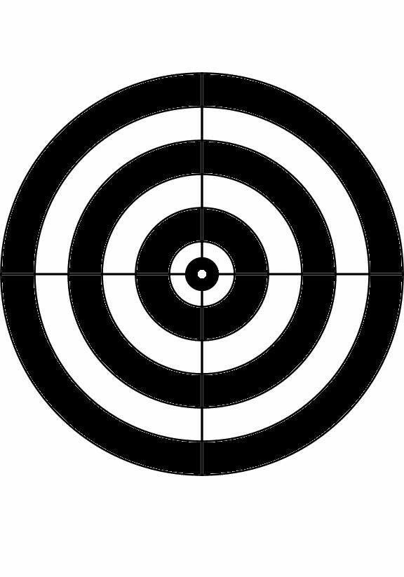 Bullseye Targets To Print - ClipArt Best