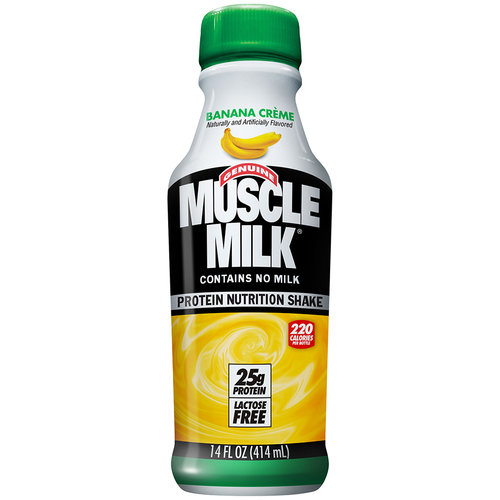 Muscle milk banana creme