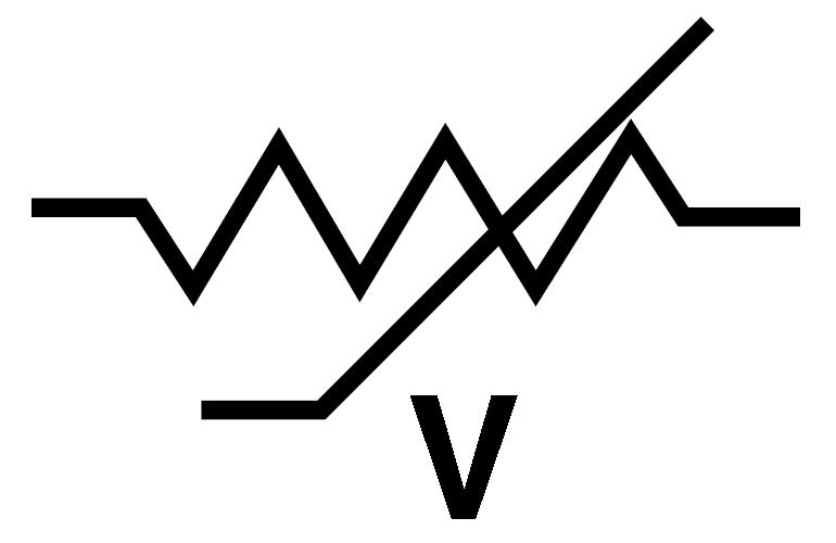 resistor schematic symbol