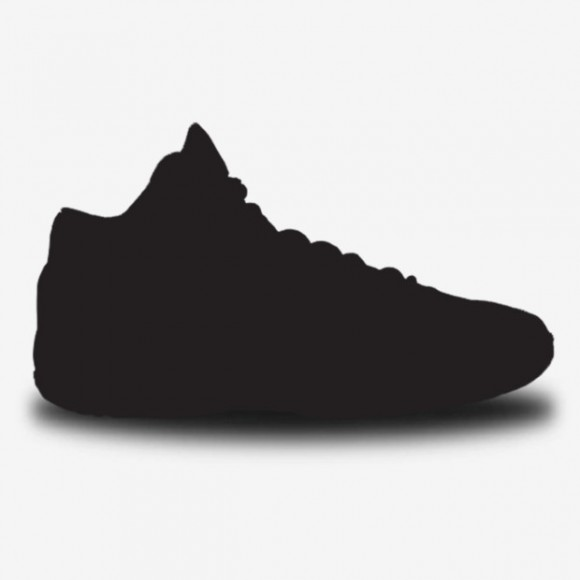 Basketball Shoes Images Black And White Clipart