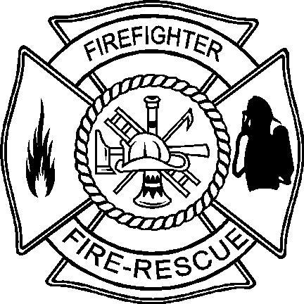 firefighter designs clipart best