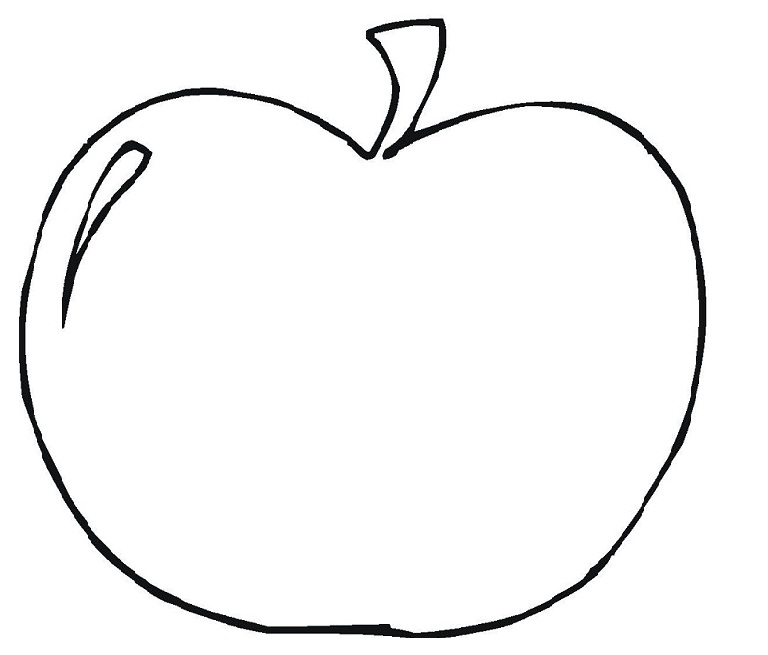 apple printable coloring pages - photo#28