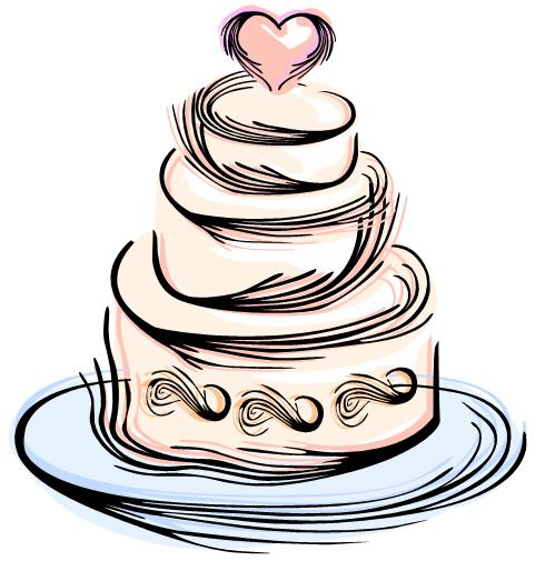 Wedding Cake Images Cartoon : Free Wedding Clipart - ClipArt Best