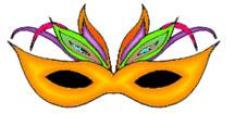 Mardi Gras Masks Clip Art - ClipArt Best