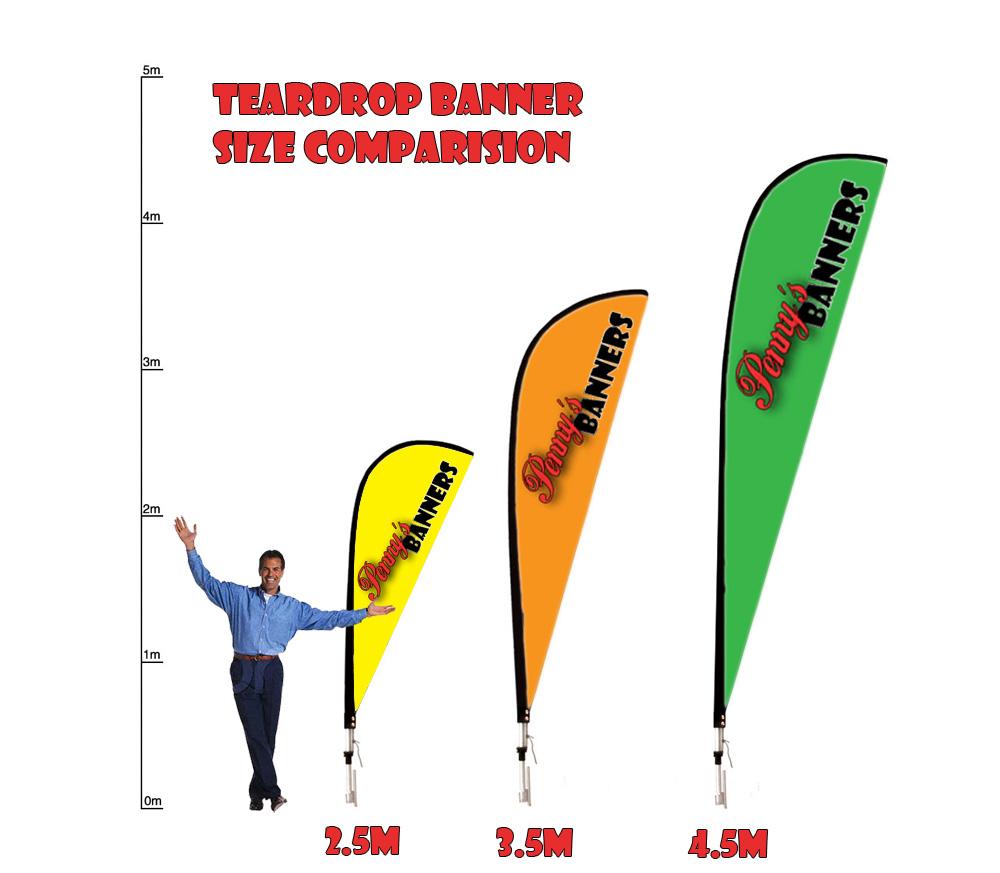 Teardrop template clipart best for Teardrop banner template