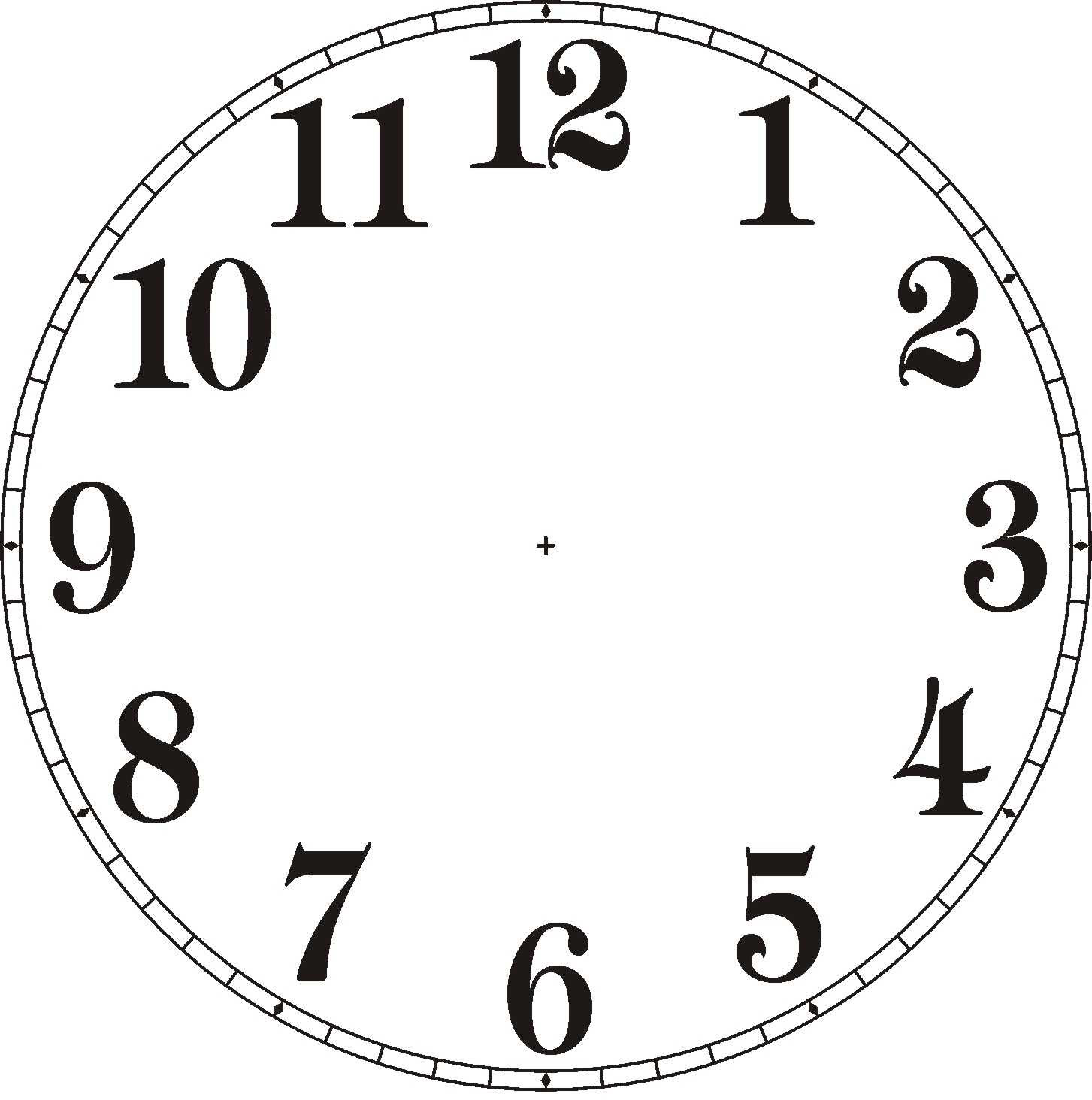 Blank Clock Clipart For Kids - ClipArt Best