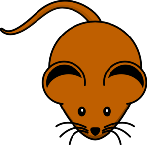 Brown Mouse clip art - vector clip art online, royalty free ...