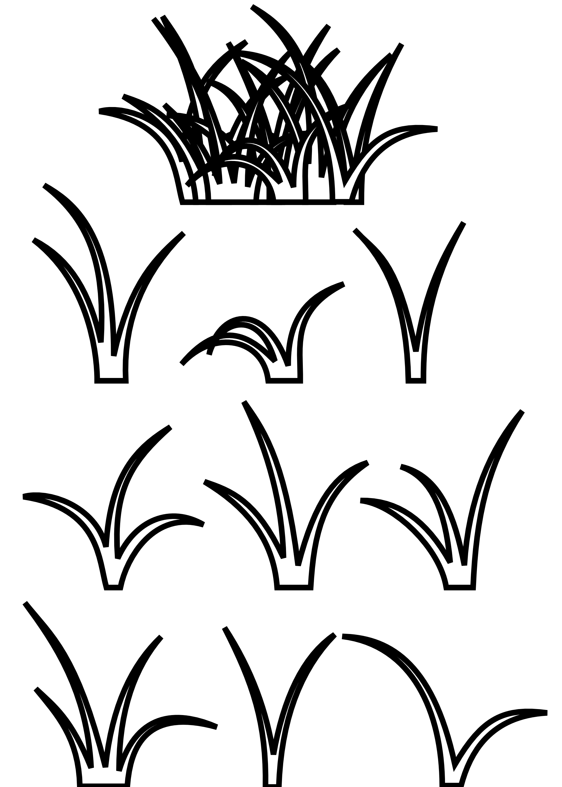 coloring pages of grass clipart best clipartbest