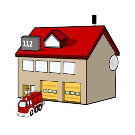 Fire Station Cartoon - ClipArt Best