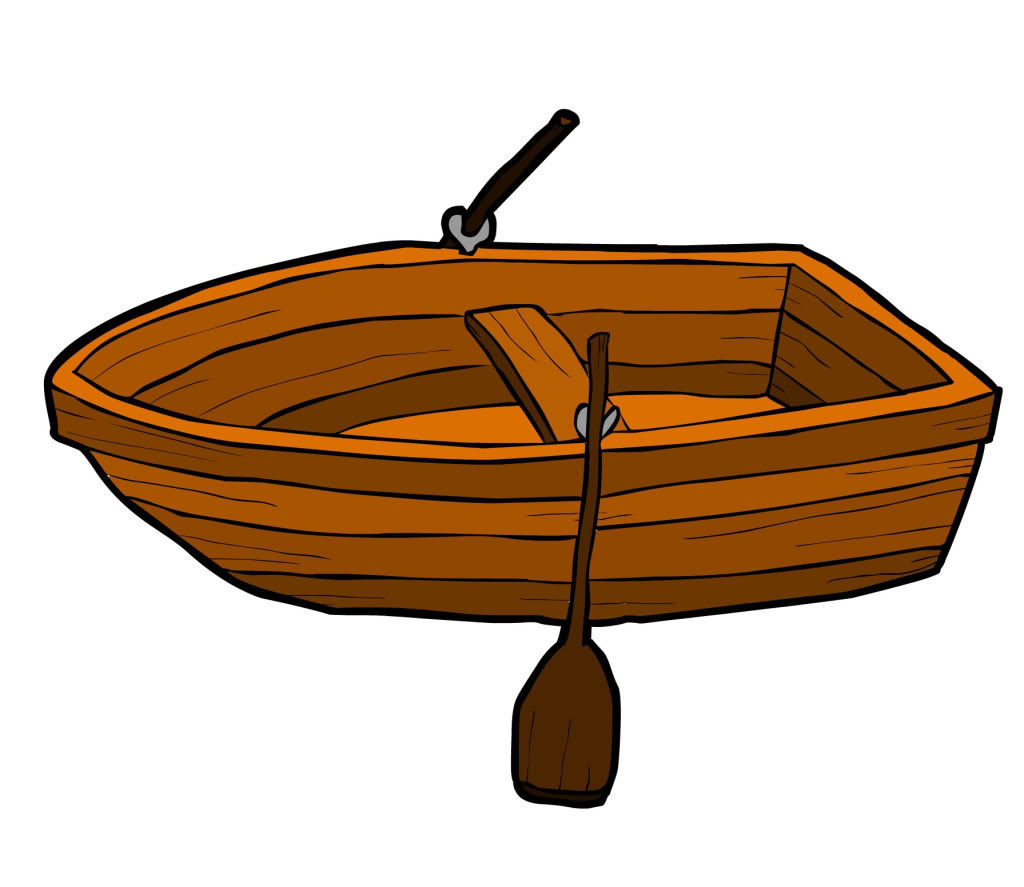 free clip art rowboat - photo #1