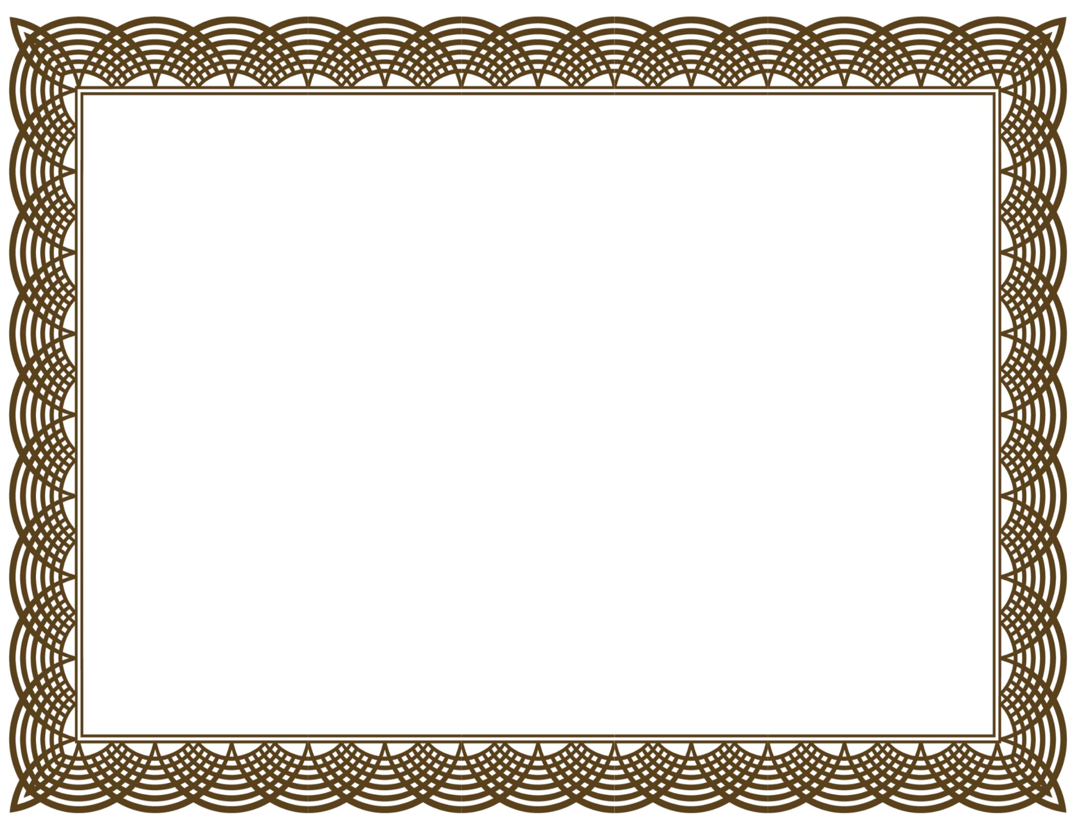 Free certificate borders clipart for Certificate borders and frames