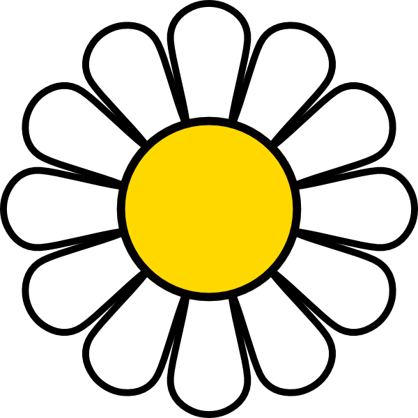 Daisy Vector Clipart - ClipArt Best - ClipArt Best