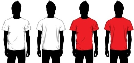 T shirt template illustrator free vector download (216,036 Free ...