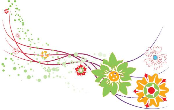 Border Flower Graphic - ClipArt Best