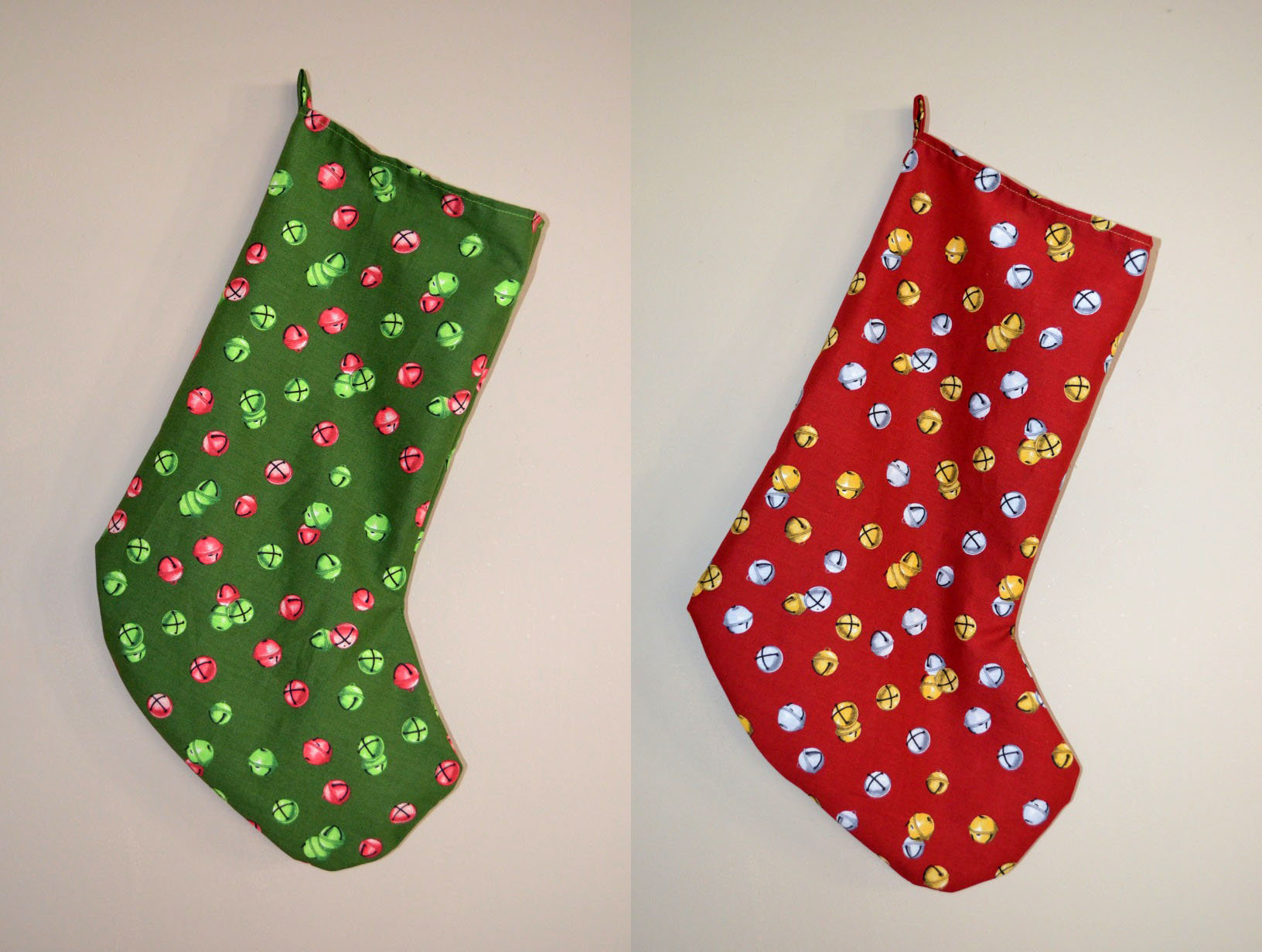 How To Make Simple Cotton Christmas Stockings Sophster