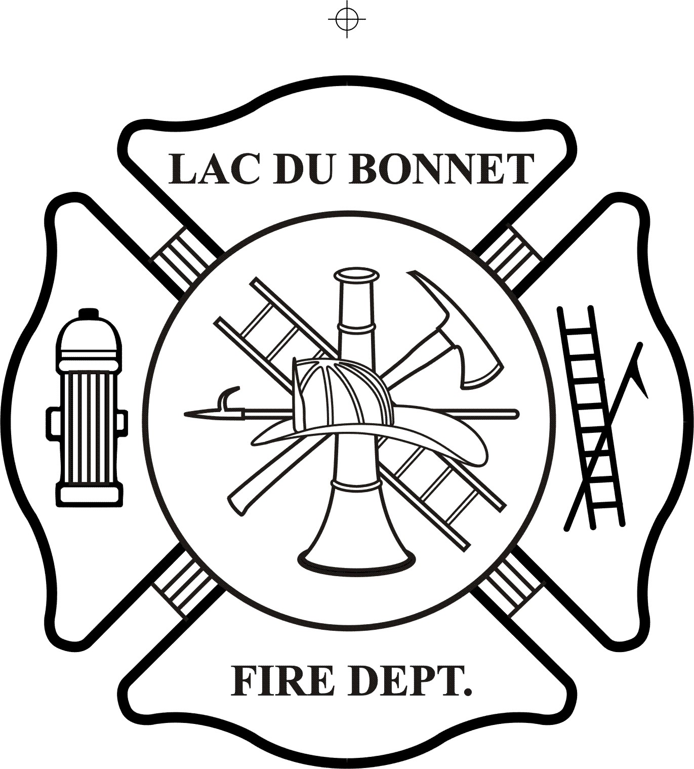 Free Firefighter Badge Vector File - ClipArt Best