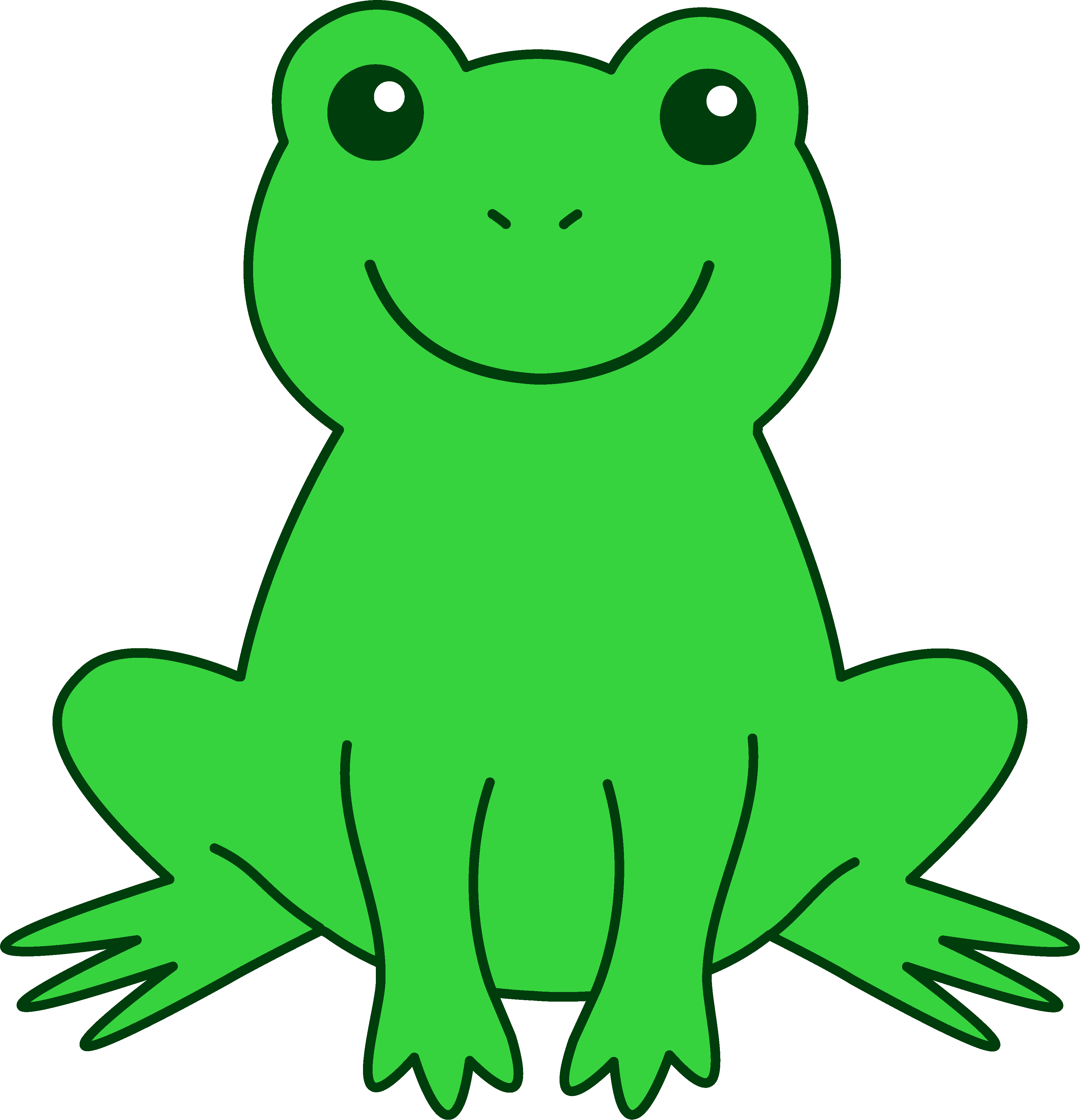 Cartoon 4 Frog Images - ClipArt Best
