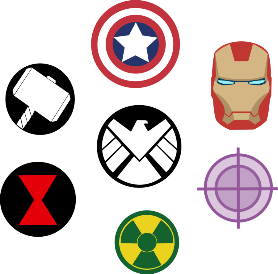 logos for gt avengers thor symbol clipart best clipart best