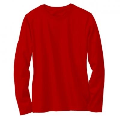 Design Kaos Polos Merah Clipart Best