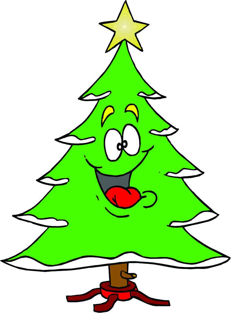 Cartoon Christmas Tree...