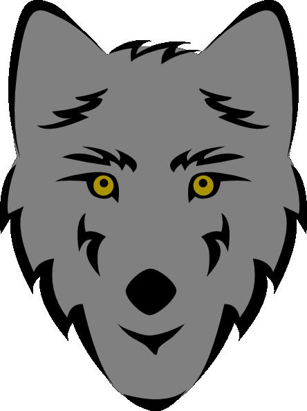 Cartoon Wolf Face | lol-rofl.com