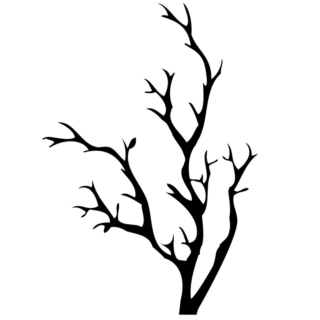 Tree Without Leaves Wall Sticker Vinyl Art Sa Clipart