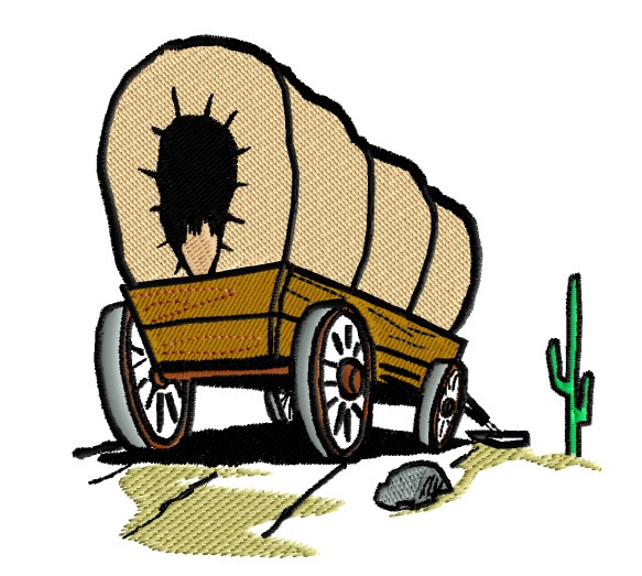 Clip Art Covered Wagon - ClipArt Best