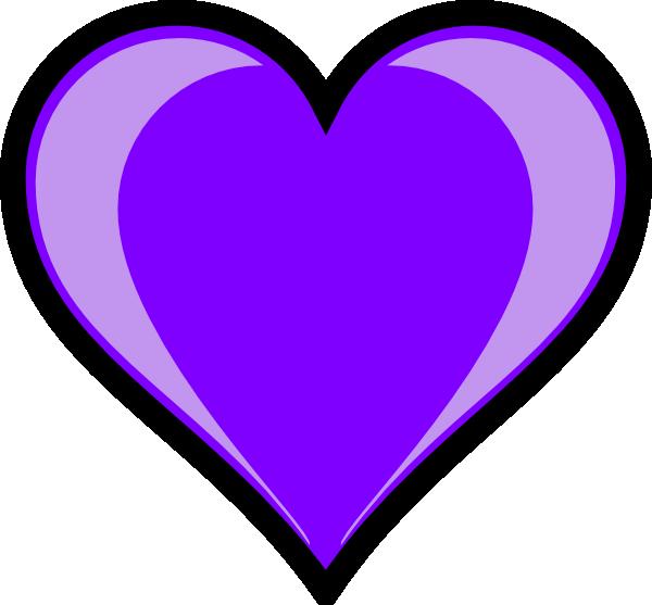 Purple Heart Clip Art Vector Clip Art Online Royalty Free ...