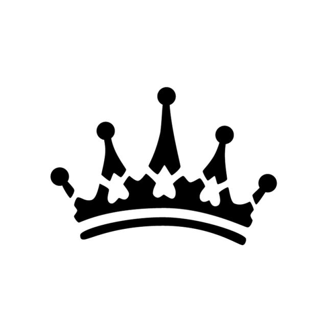 Princess crown silhouette clip art - photo#35