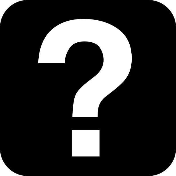Clipart Image Of Question Mark