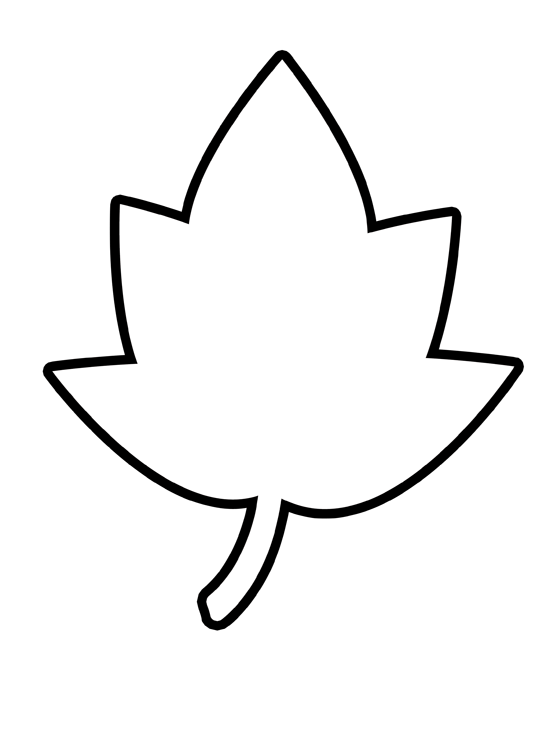 Maple leaf template free printable clipart best for Autumn leaf template free printables