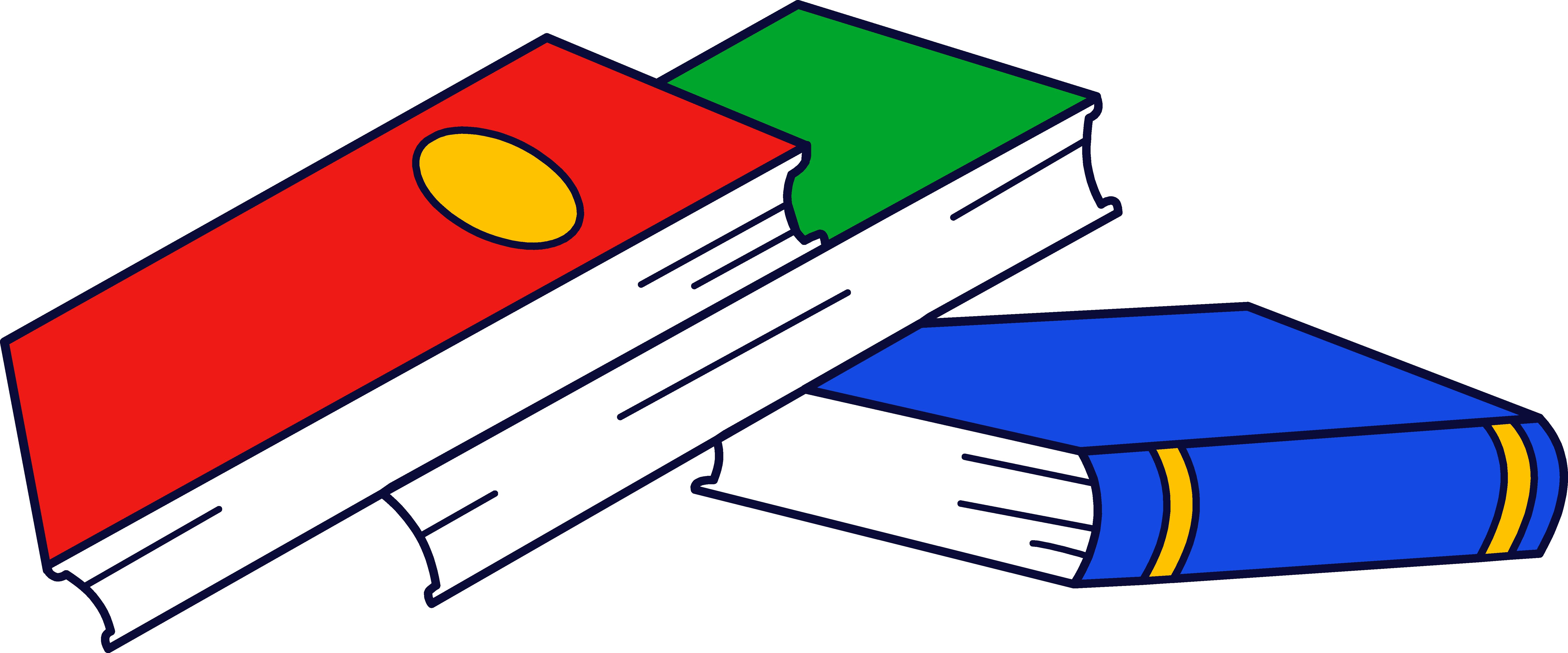 Free Clip Art Of Books - ClipArt Best