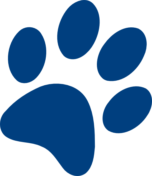 uk wildcat paw prints clipart clipart best wildcat paw print clip art free Wildcat Claw Clip Art