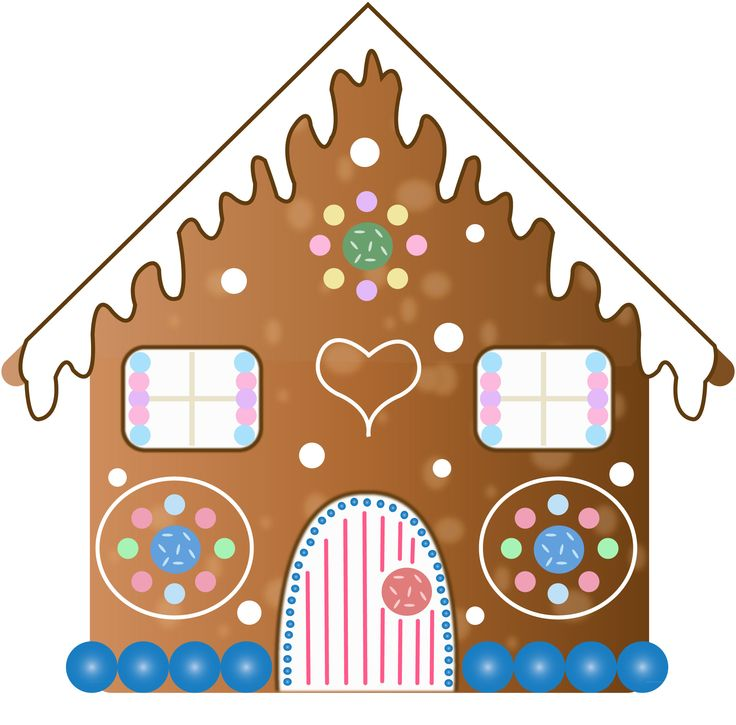 christmas clip art gingerbread house - photo #30