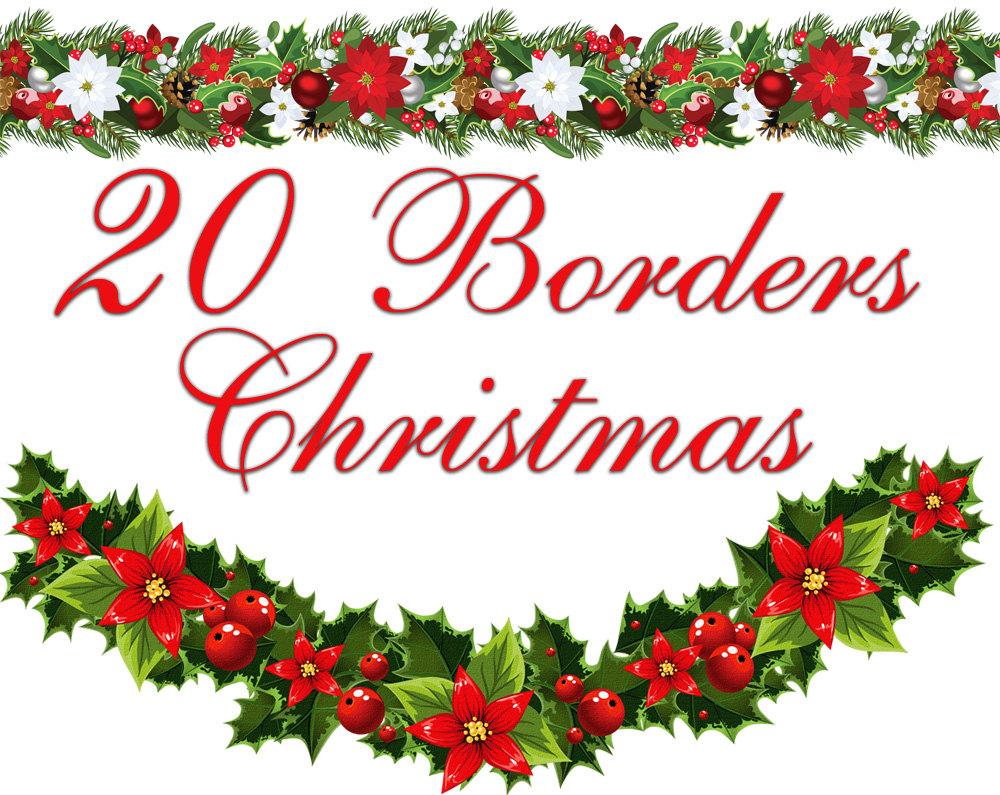 free christmas borders for word