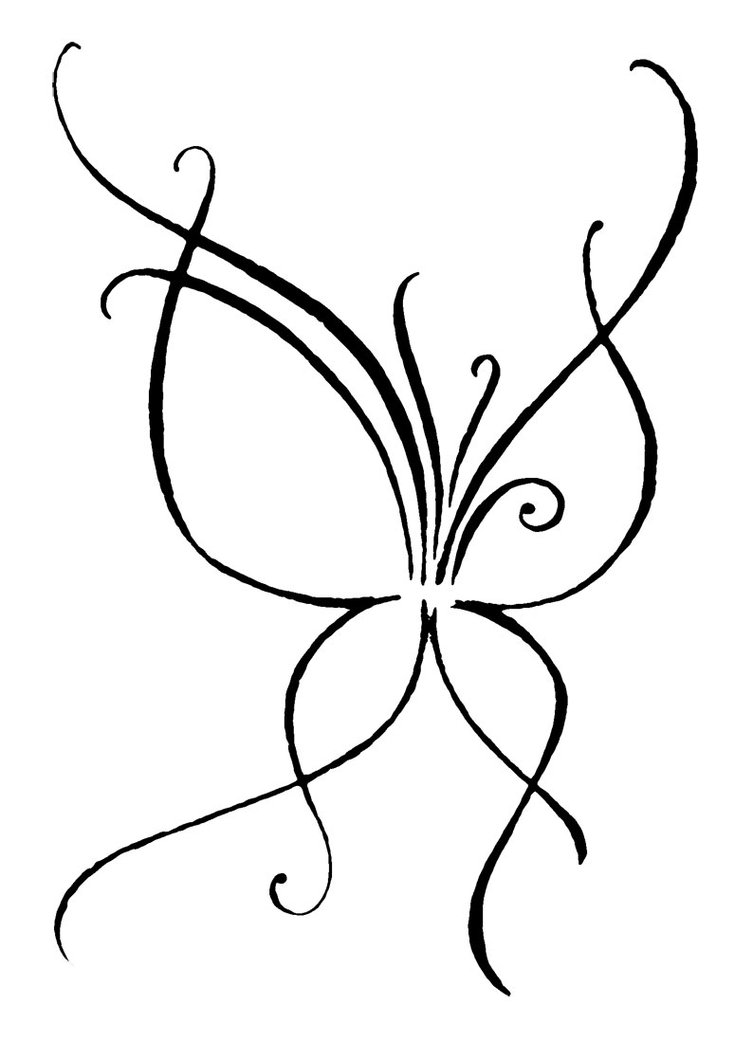 Line Drawing Vines : Line drawing vine clipart best