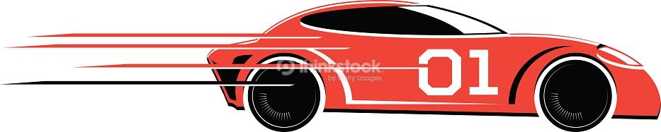 Red Race Car Clipart - ClipArt Best