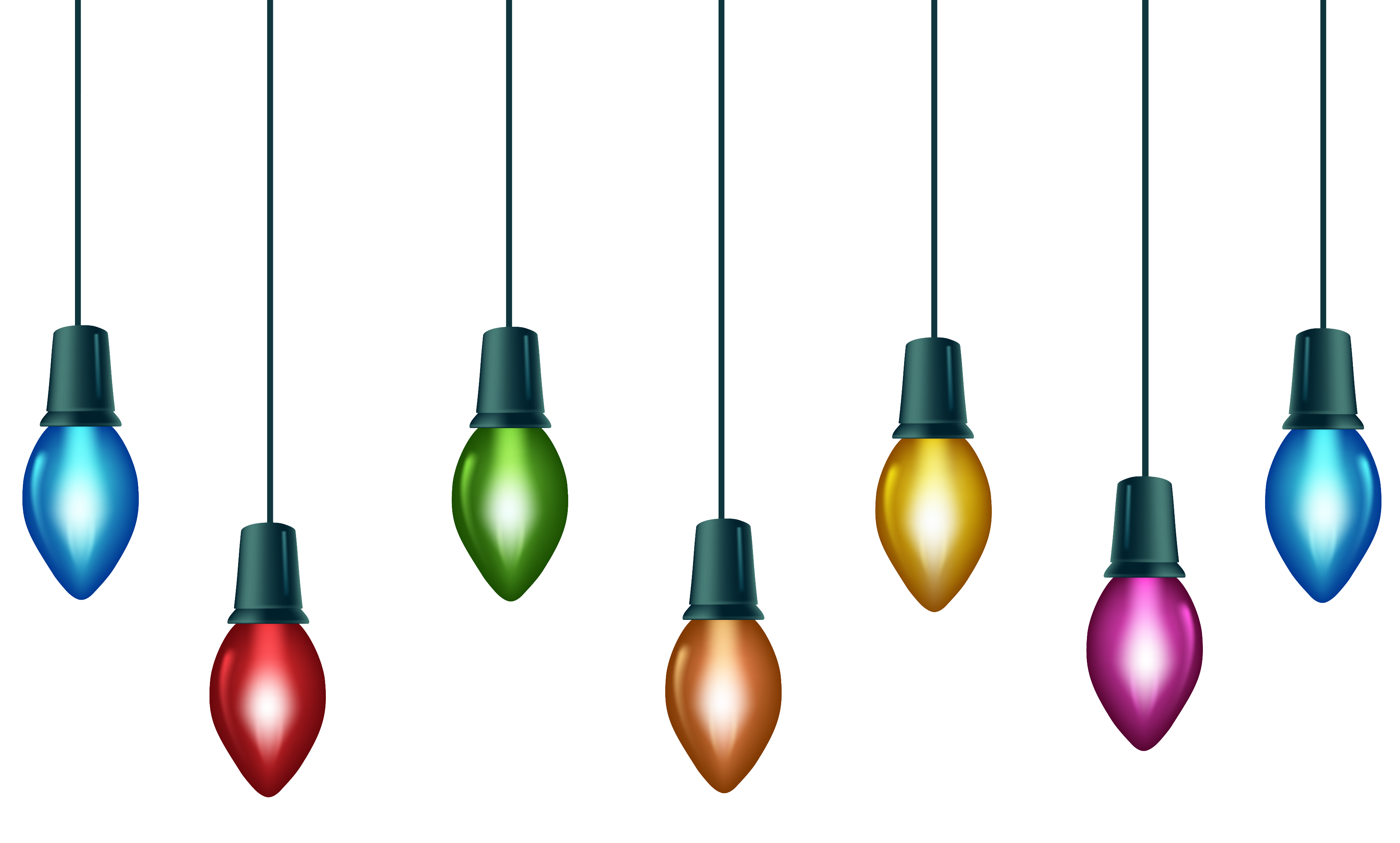 Animated Christmas Lights Clipart - ClipArt Best