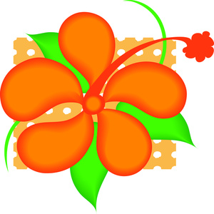 Tropical Flower Clipart 060611 ClipArt